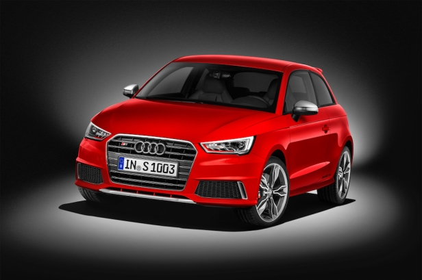 3-door S1 quattro without styling pack comes with aluminium look grille, splitter and air intakes.