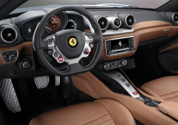We don't care what you call it Ferrari, that's a boost gauge.