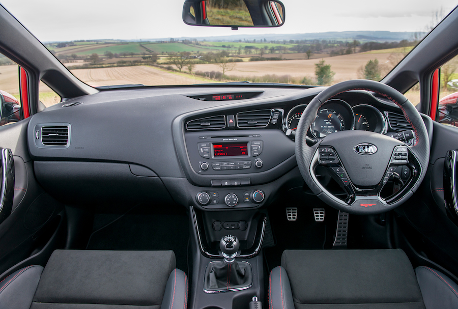 Kia Ceed Engine >> New Kia cee'd GT – Two more doors, but still packing 201 ...