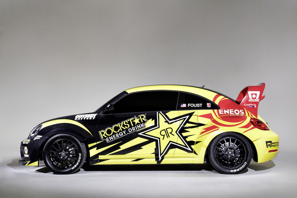 Der GRC Beetle des Volkswagen Andretti Rallycross Teams USA