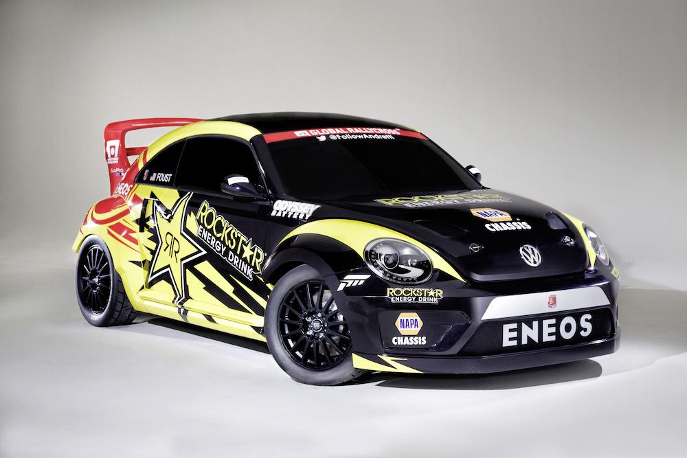 VW Beetle Andretti Rallycross Teams USA