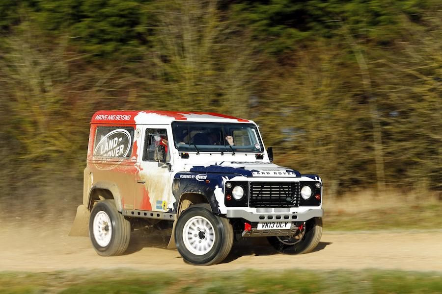 Land Rover Defender Challenge by Bowler 001