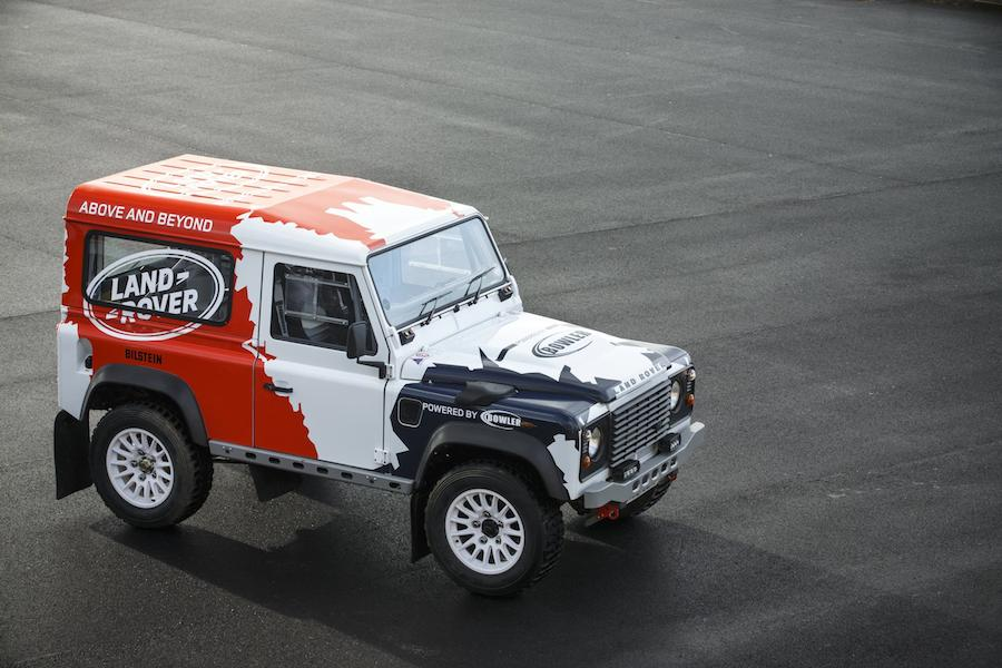 Land Rover Defender Challenge by Bowler 002