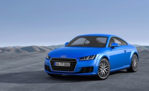 Regular TT shown here in Scuba Blue.