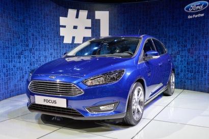 New Ford Focus - Deep Impact Blue