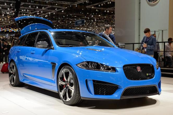 French Racing Blue for Jaguar's XFR-S Sportbrake