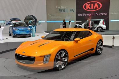 Concept only, but still lovely, Kia Stinger