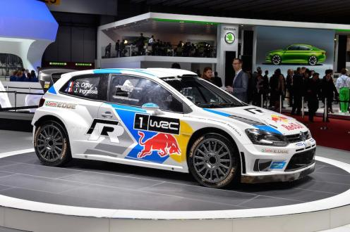 Last year's WRC championship winning car