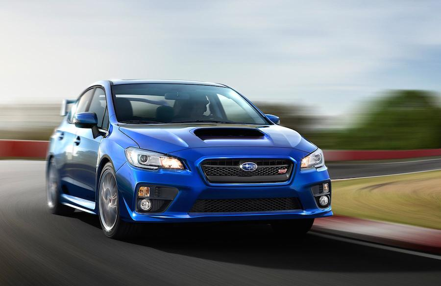 See, almost identical to regular WRX STI road car.