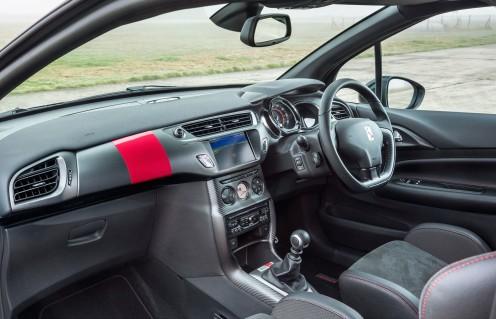 Random red stripe on dash