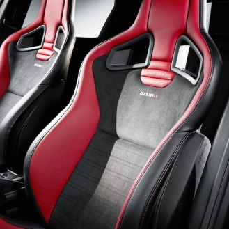Optional Recaro bucket seats.