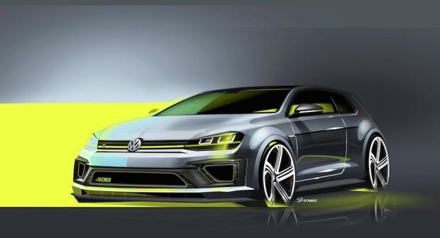 Golf R 400 sketch_01