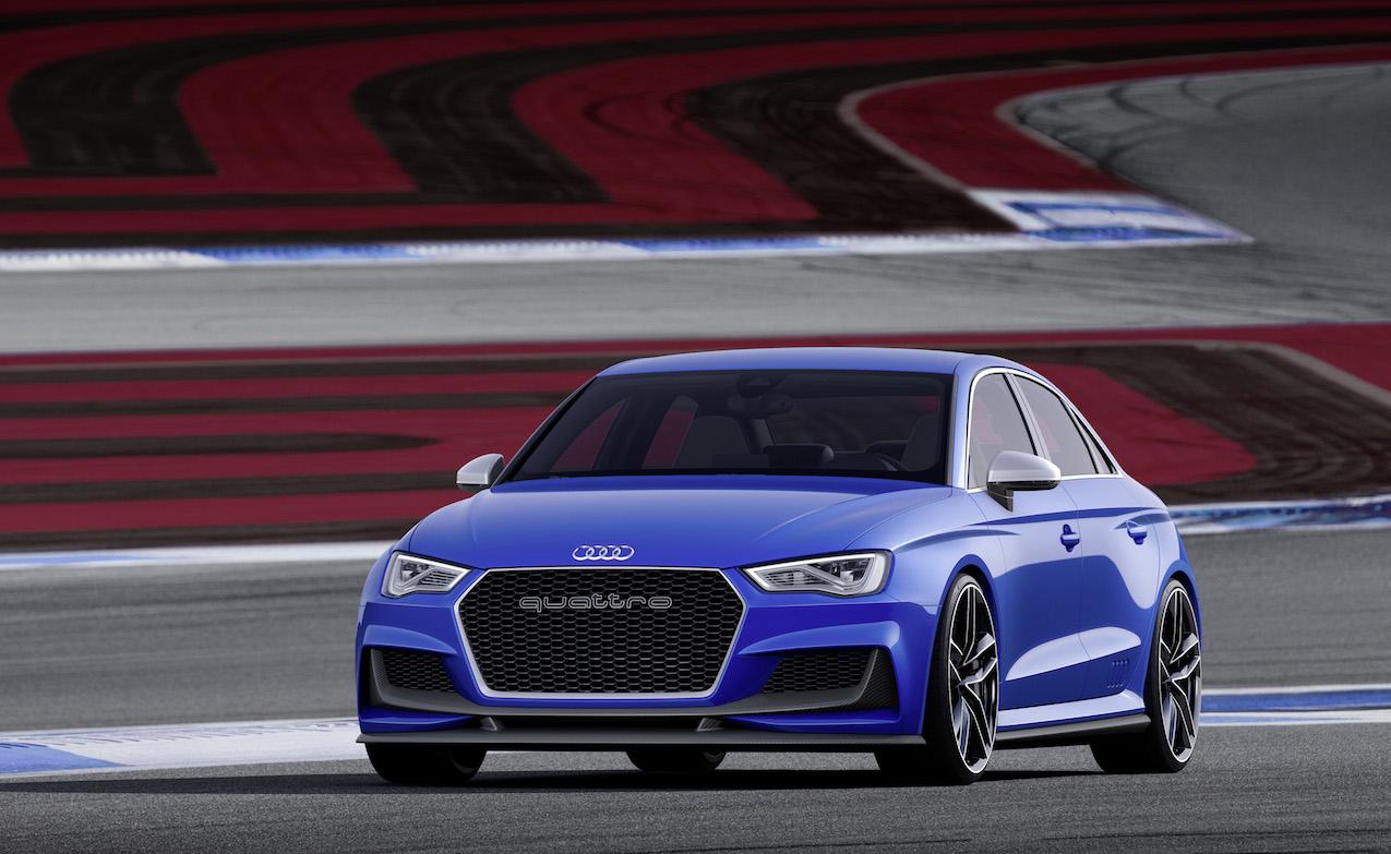 Audi s3 saloon engagesportmode