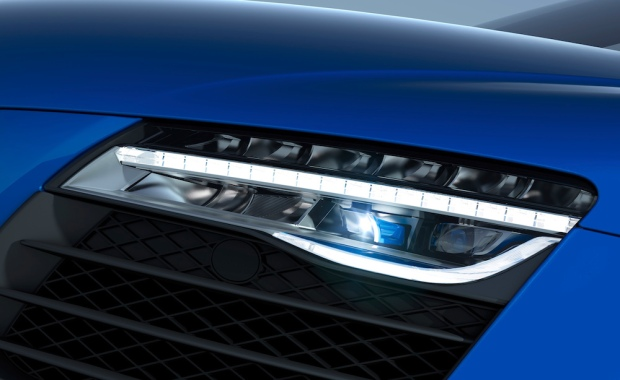 Audi R8 LMX Laser Headlights