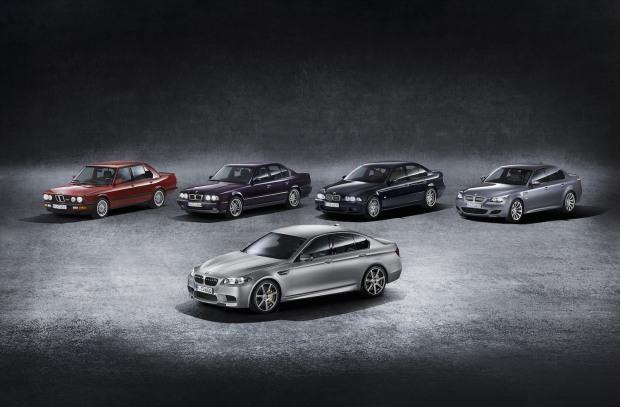 2014 BMW M5 30 Jahre Edition 00