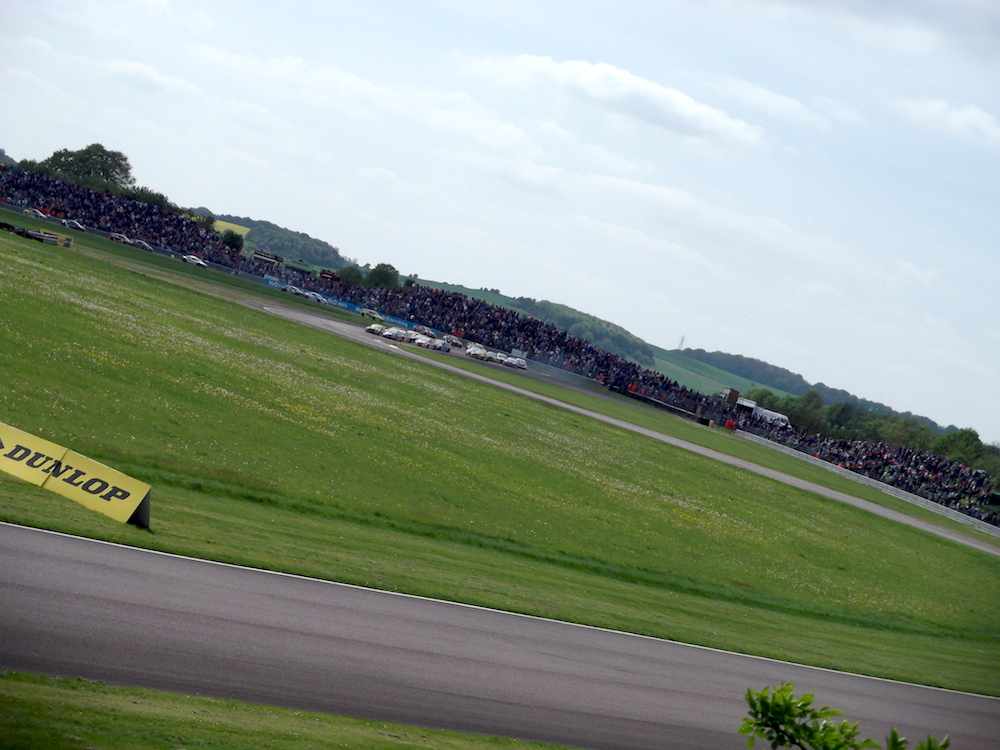 Thruxton BTCC 2014 - Race Two 01