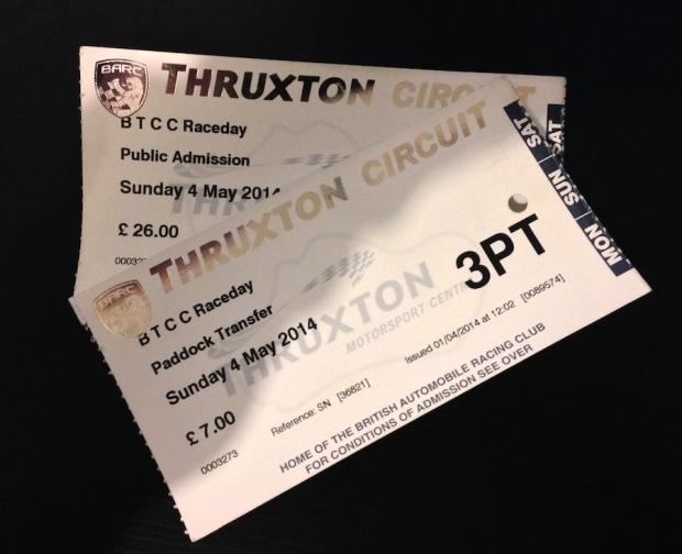 Thruxton BTCC 2014 - Tickets