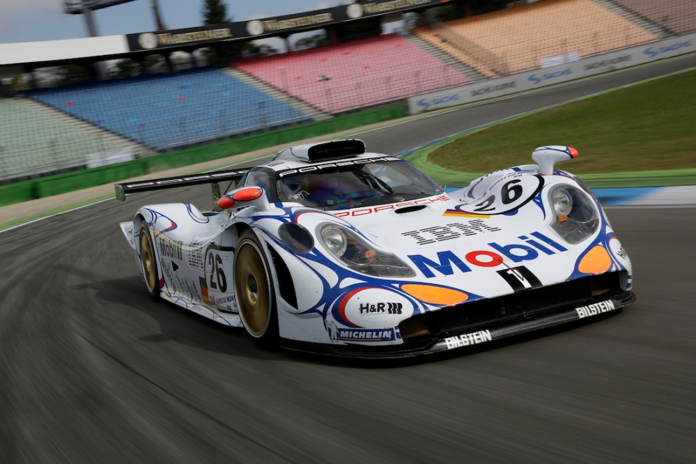 911 Gt1-98 took Porsche's last outright win back in 1998.