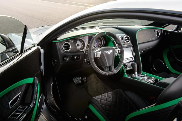 2014 Bentley Continental GT3-R Interior 07