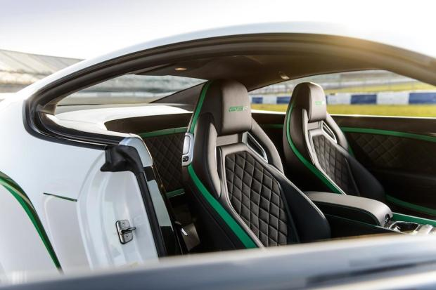 2014 Bentley Continental GT3-R Interior 08
