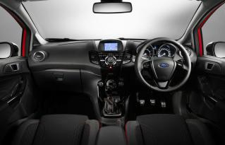 2014 Ford Fiesta Zetec S Red : Black Edition Interior 01