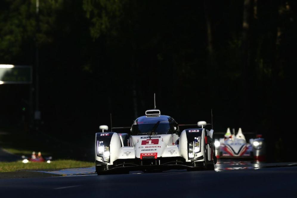 2014 Le Mans #1 Audi R18 e-tron Qualifying 01
