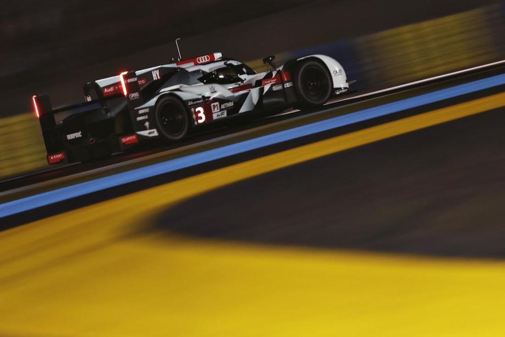 2014 Le Mans #3 Audi R18 e-tron Qualifying 01