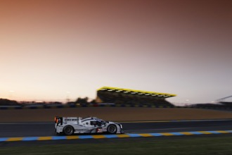 Provisional pole at the end of the first night - #20 Porsche