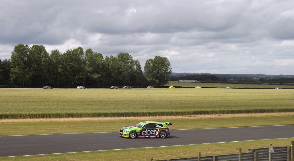 Turkington lined up on pole after a record lap