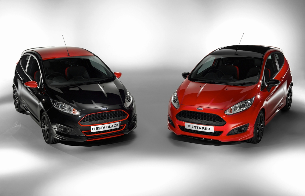 Ford Fiesta Red : Black Edition 001