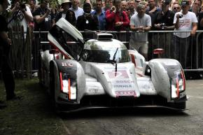 Fresh from Le Mans victory, Audi R18 e-tron quattro