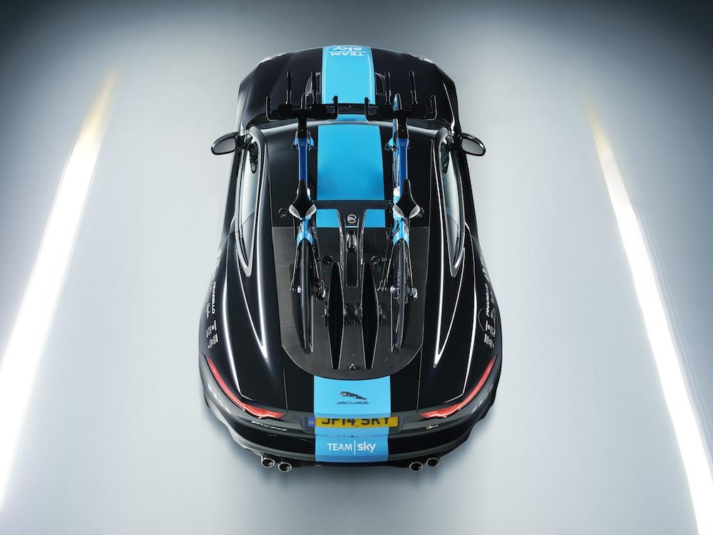 Custom carbon rack and rear hatch.