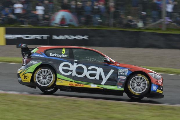 Turkington catches some air