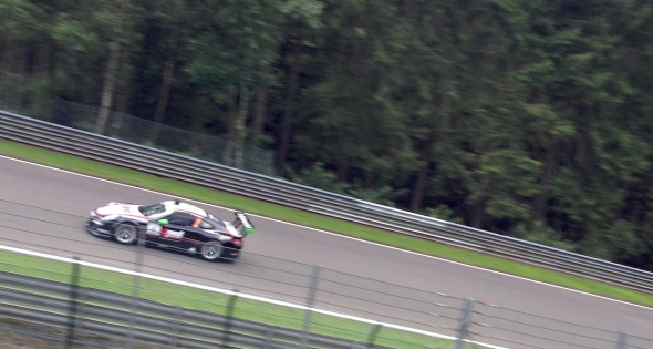 Not all F1 on Friday. Porsches were out to qualify too