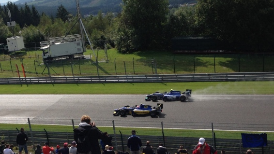 GP2 cars manage to be suitably loud