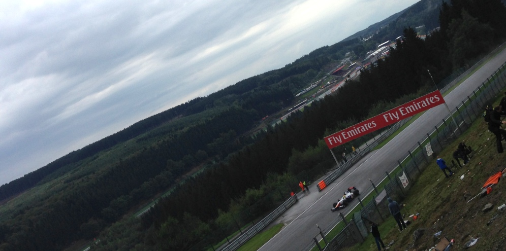 Get the right point, and you can see a huge portion of the Spa-Francorchamps circuit.