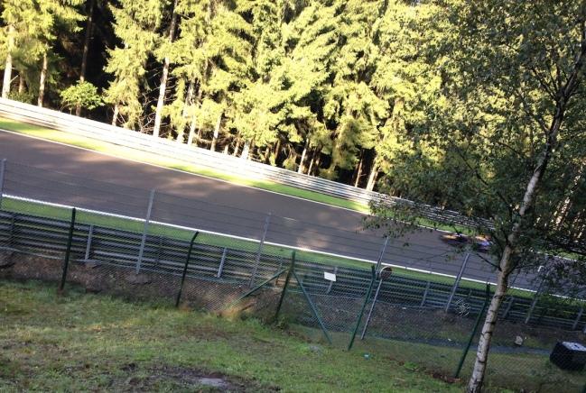 GP3 car breaks cover on Sunday morning