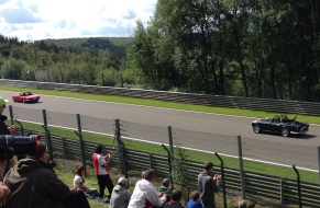 F1 Driver Parade underway
