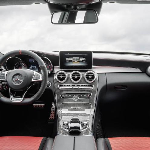 2015 Mercedes-AMG C 63 Interior 006