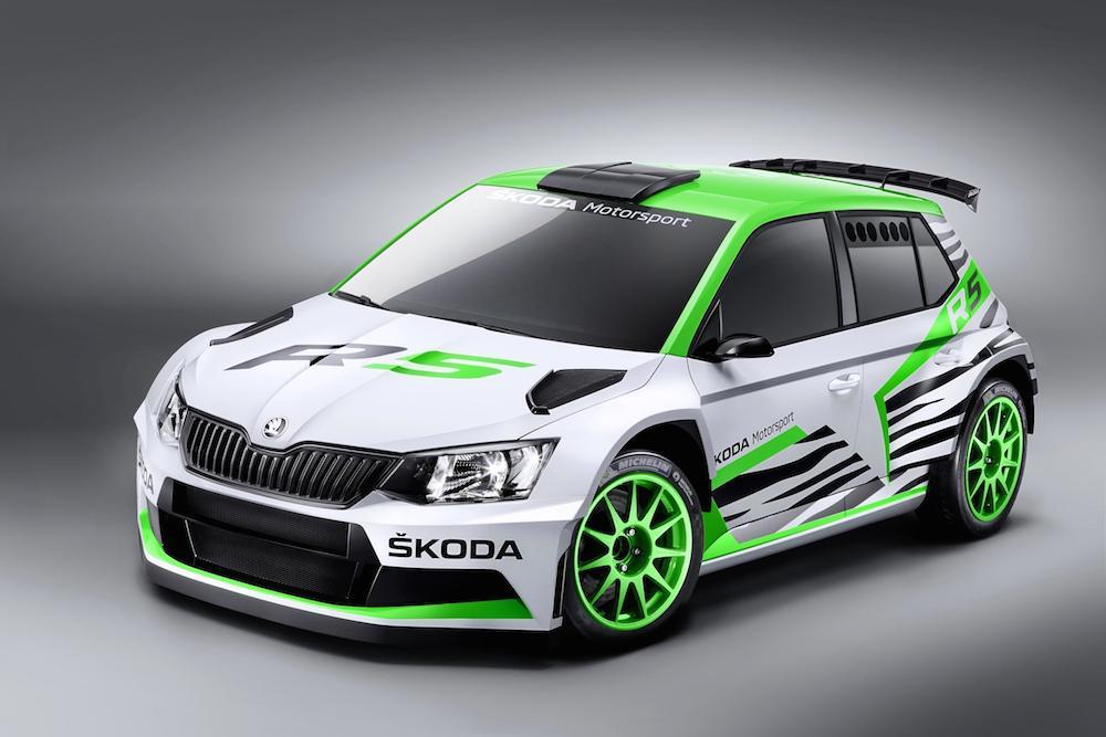 SKODA Fabia R5 Concept Car 001