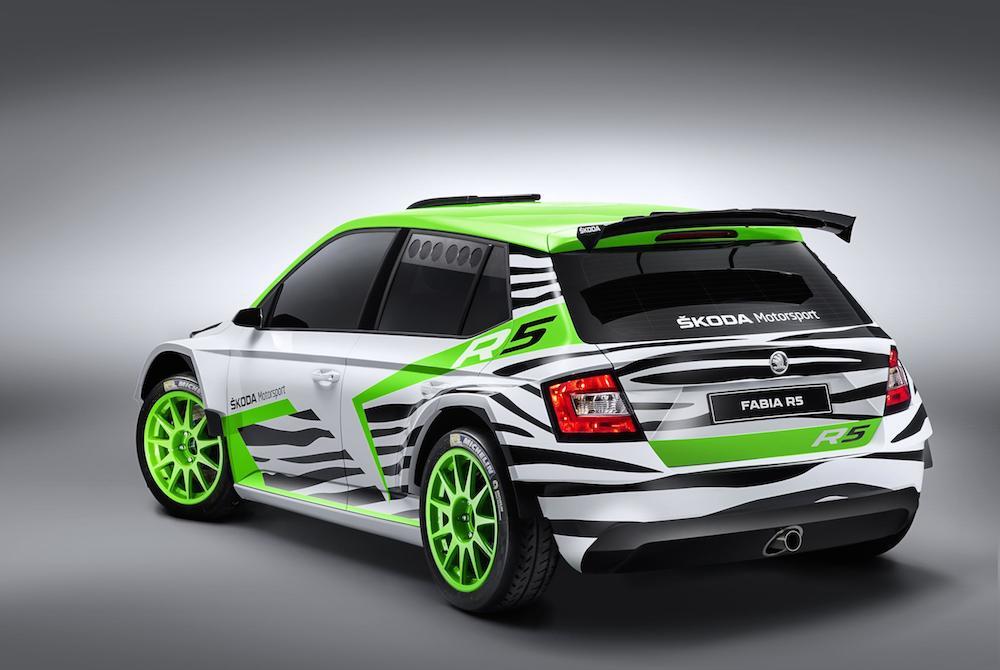 SKODA Fabia R5 Concept Car 003