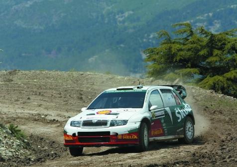 Skoda Fabia WRC 001
