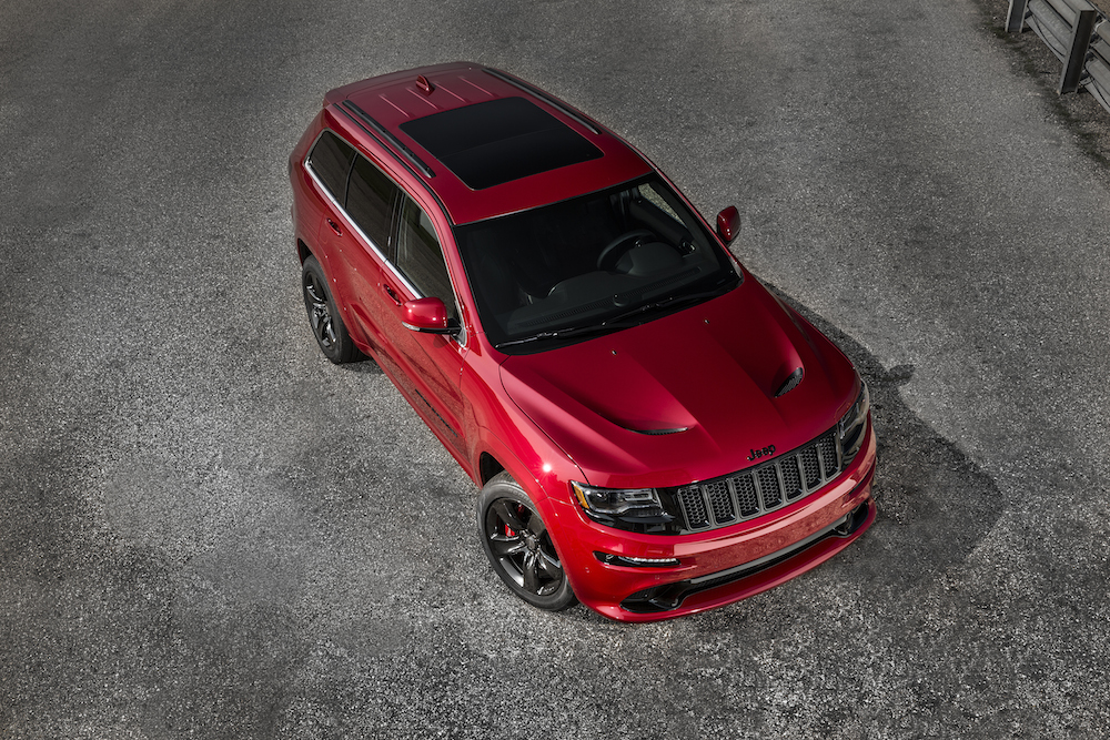 New – Jeep Grand Cherokee SRT Red Vapor Limited Edition ...