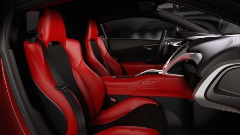 Next-Generation Acura NSX Interior