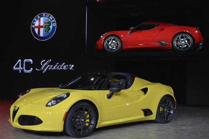Spider version of the Alfa 4C