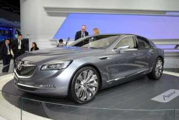 Buick's stunning Avenir concept