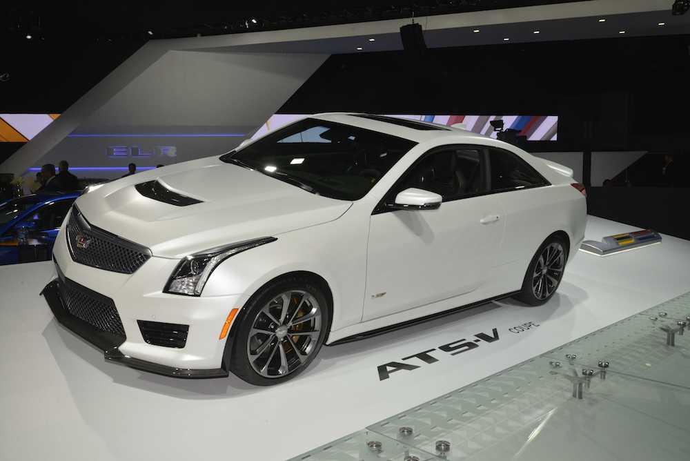 Detroit 2015 Cadillac Ats V Coupe 001 Engagesportmode