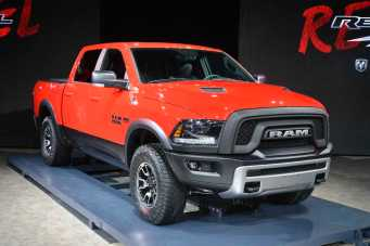 Dodge Ram Rebel: not intended to be a F150 Raptor rival, apparently.