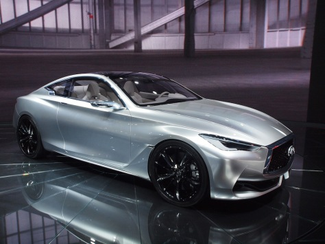 Not bad looking; the Infiniti Q60 Concept