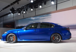 Lexus continues the the trend of painting 'F' models blue